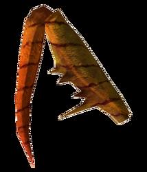 Grilled mantis leg