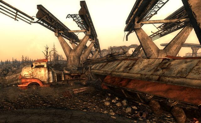 File:Ruined truck Corvega factory.jpg