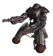 Minigun sentry bot