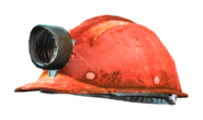 Fo4 mining helmet red grey