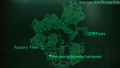 NCP storage and mixing vats map