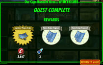 FoS Our Cups Runneth Over... WITH FAILURE rewards