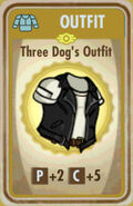 FoS Three Dog's Outfit Card