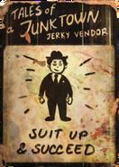 Jerky vendor suit up cover