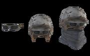 Fo4 metal helmet cut