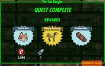 FoS The Cat Burglar rewards