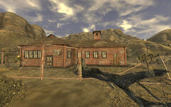 Goodsprings schoolhouse