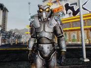 Arcade power armor