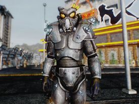 Arcade power armor