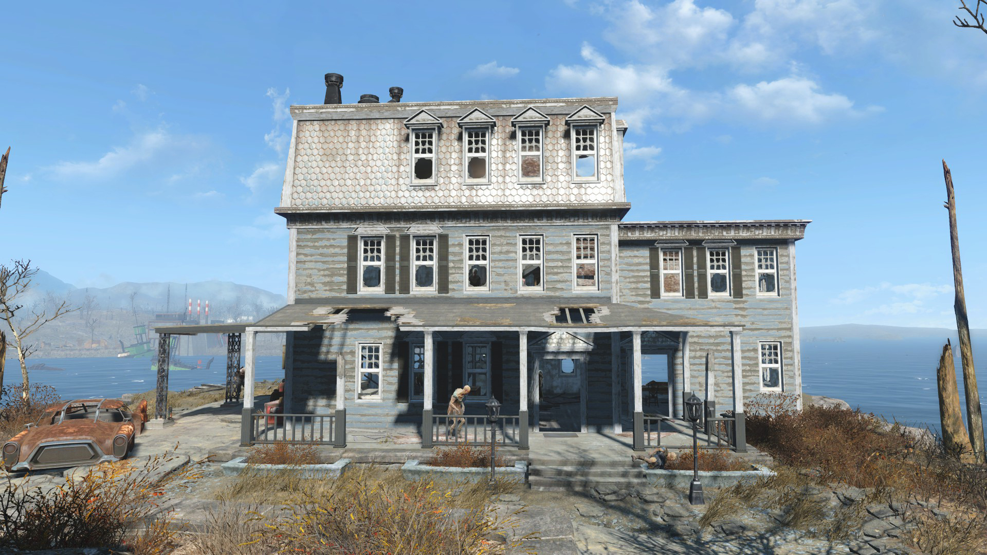 Croup manor fallout wiki fandom powered by wikia for Best house designs fallout 4