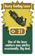 Rusty Gatling Laser