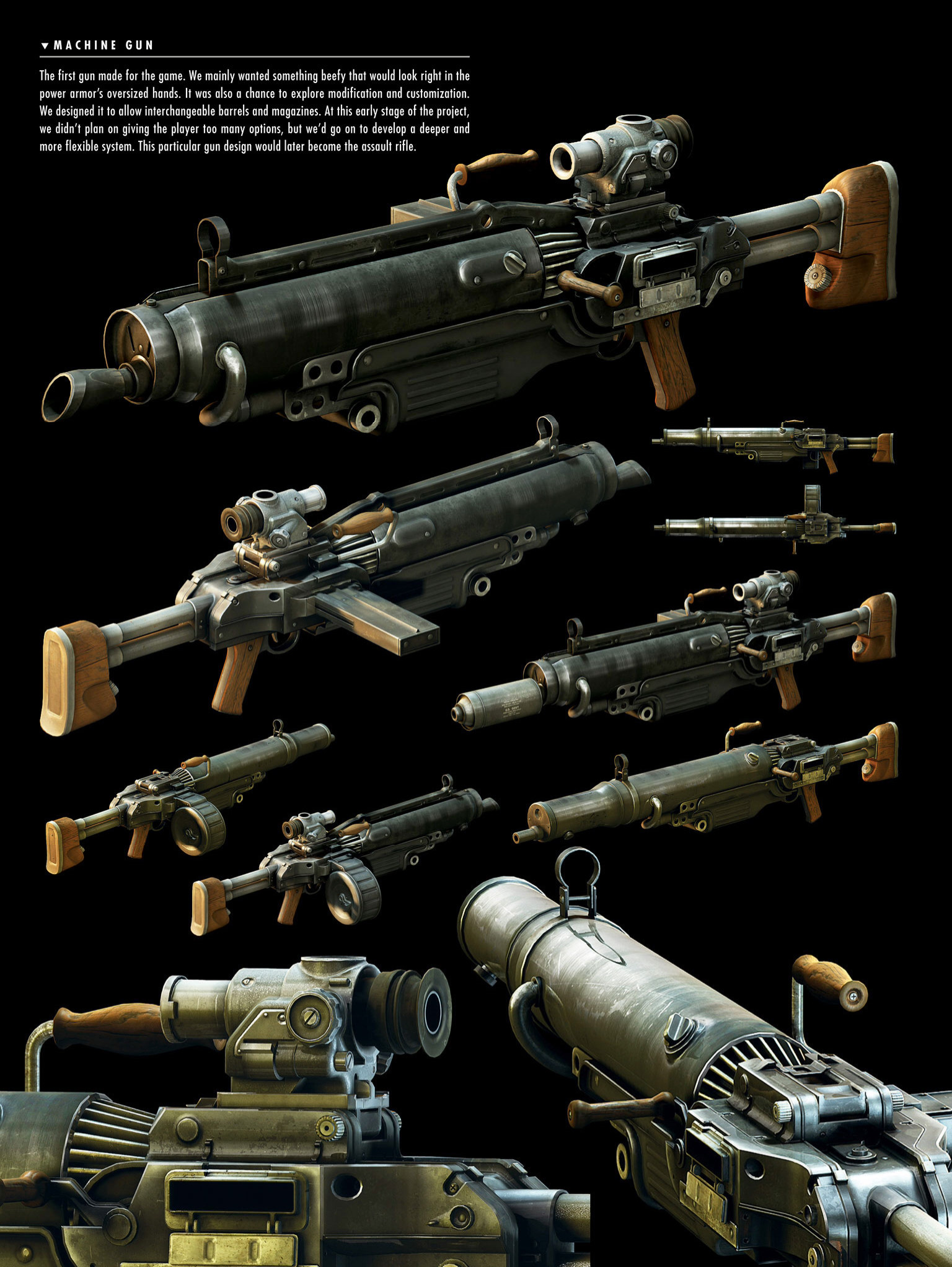 Fallout 4 Weapons Concept Art