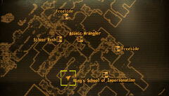 Bucks Steakhouse loc map