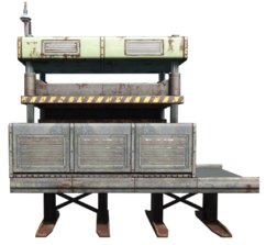 FO4CW Heavy weapon forge