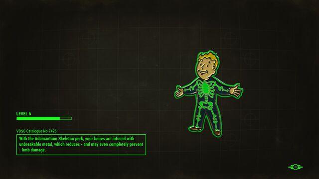 File:FO4 Adamantium Skeleton Loading Screen.jpg