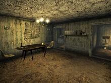 McBride house interior