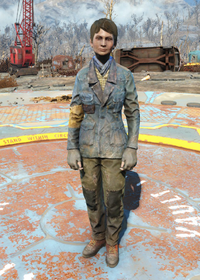 Fo4Padded Blue Jacket