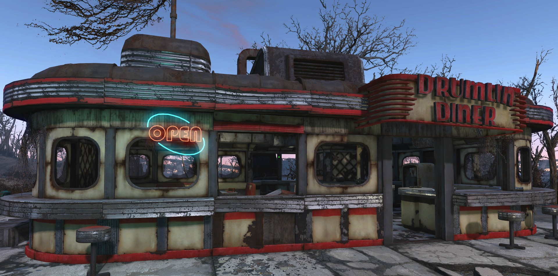 Drumlin diner fallout wiki fandom powered by wikia for Diner picture