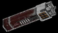Laserrifle beamsplitter