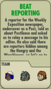 Beat Reporting Description