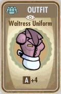 FoS Waitress uniform Card