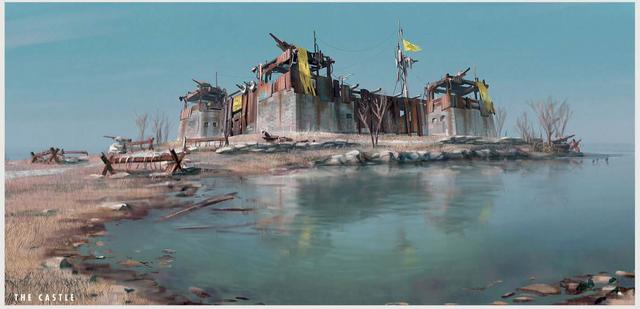 File:Fo4 The Castle Art.png