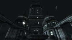 Tenpenny Tower at night