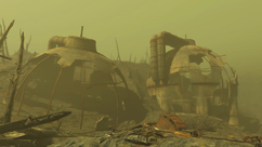 FO4 Decayed reactor site 1