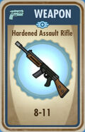 FoS Hardened Assault Rifle Card