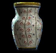 Empty willow vaulted vase