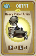 FoS Heavy Raider Armor Card