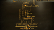 Vault 3 living quarters map