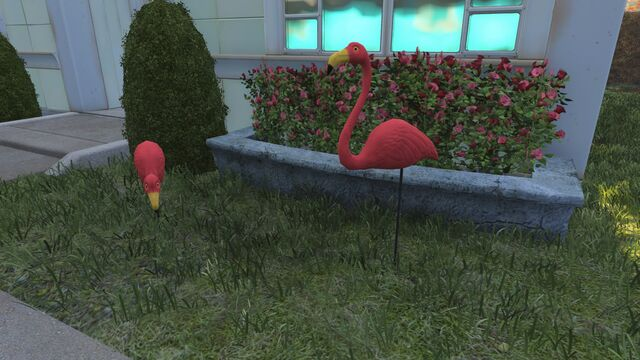 File:FO4 pre-war Sanctuary Hills flamingos.jpg