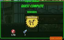 FoS Express Checkout rewards