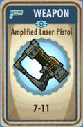 Fos Amplified Laser Pistol Card