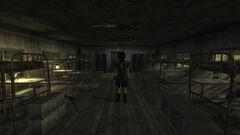 Nelson barracks interior