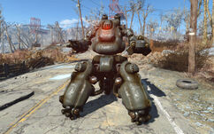 Fo4 sentry bot Gus
