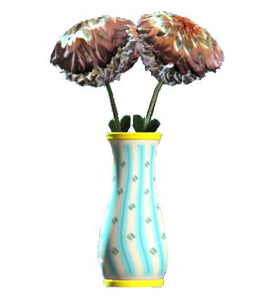 File:New teal flared vase.png