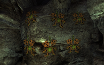 GK supply cave Hang the NCR Bear