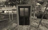 Sim Exit door