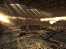 Nellis Hangars interior