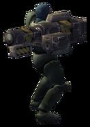 15mm ARTEMIS rail gun rear