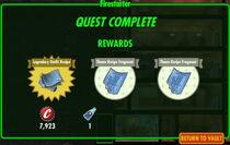 FoS Firestarter rewards