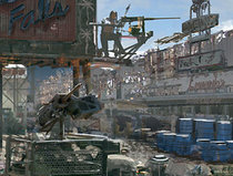 Fo3 M2 Browning Concept Art