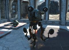 Sprocket Robot General Atomic