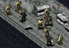 Fo1 super mutant guards