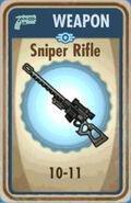 FoS Sniper Rifle Card