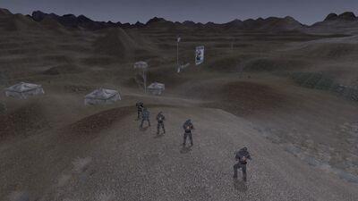 NCR Base before assault