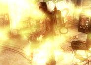 Torcher flames