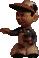 Fo2 small statuette